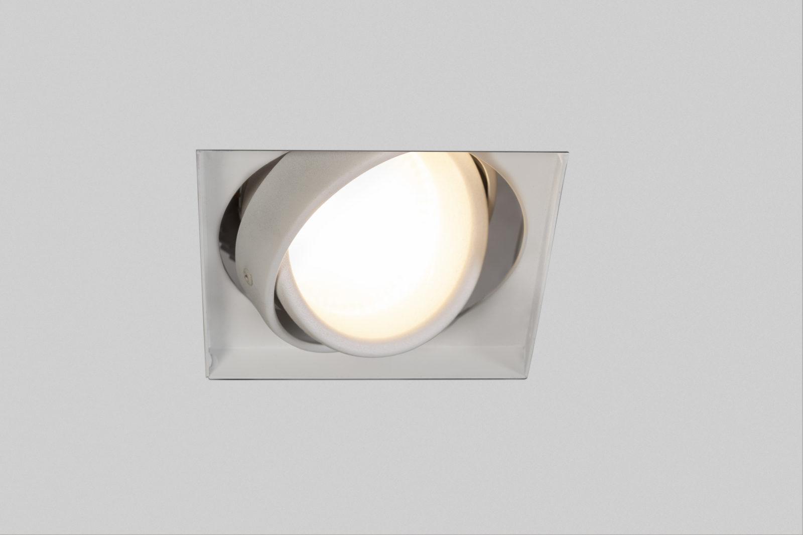 Luminária Argo Quadrada No Frame