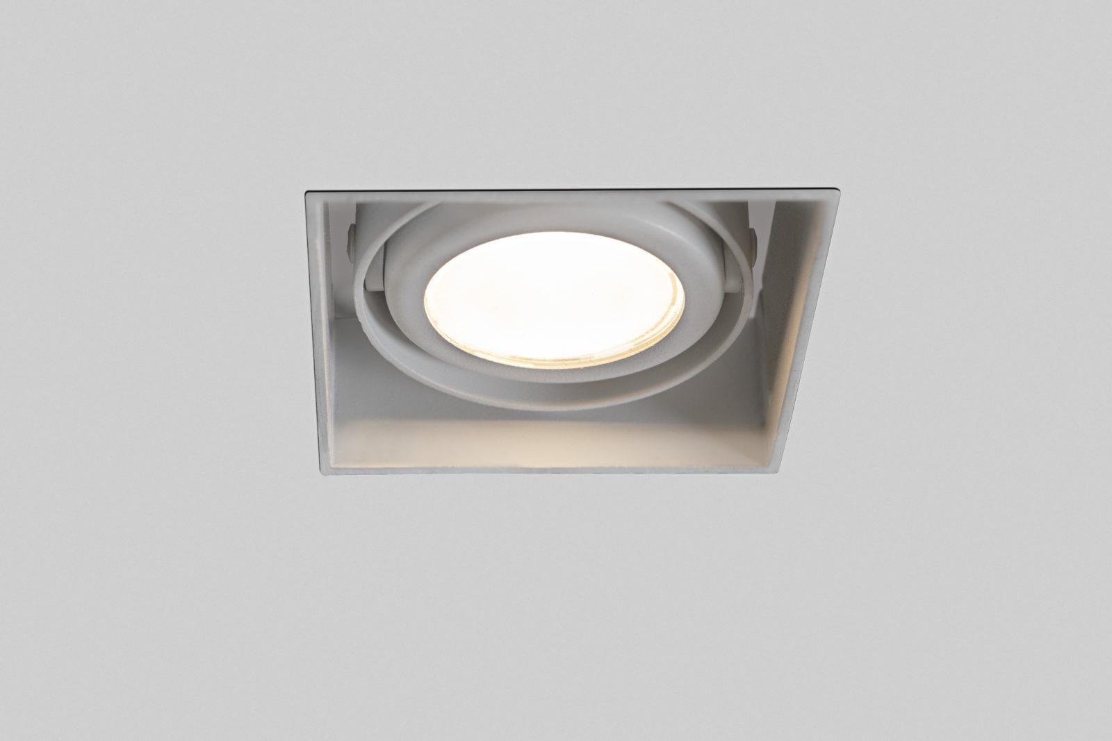 Luminária Mini Argo Quadrada No Frame