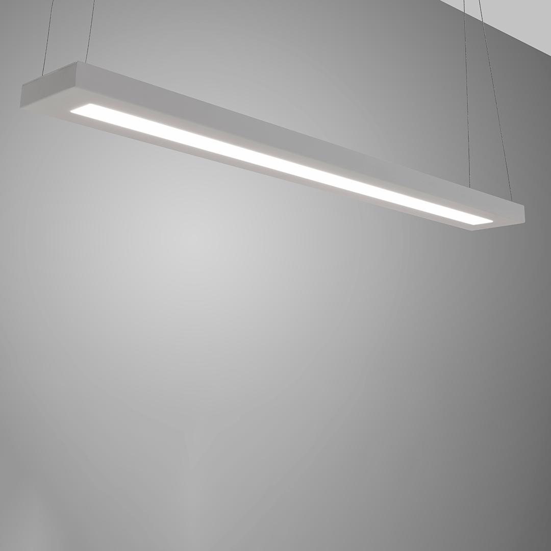 Luminária Office Aletas